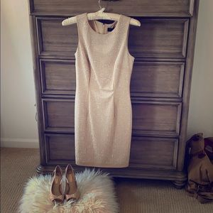 Sparkle dress with matching shoes